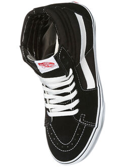 BLACK MENS FOOTWEAR VANS SKATE SHOES - SSVN-0D5IB8CM