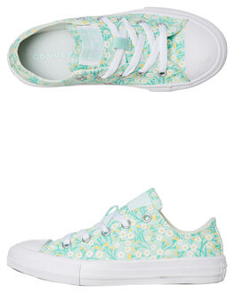 OCEAN MINT KIDS GIRLS CONVERSE SNEAKERS - 666880COMINT
