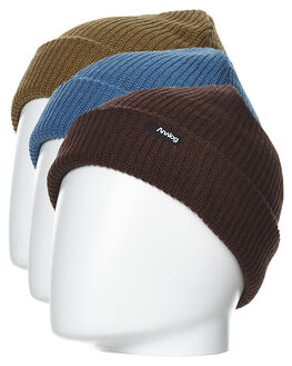 PURPLE BROWN BLUE MENS ACCESSORIES ANALOG HEADWEAR - 17249100541