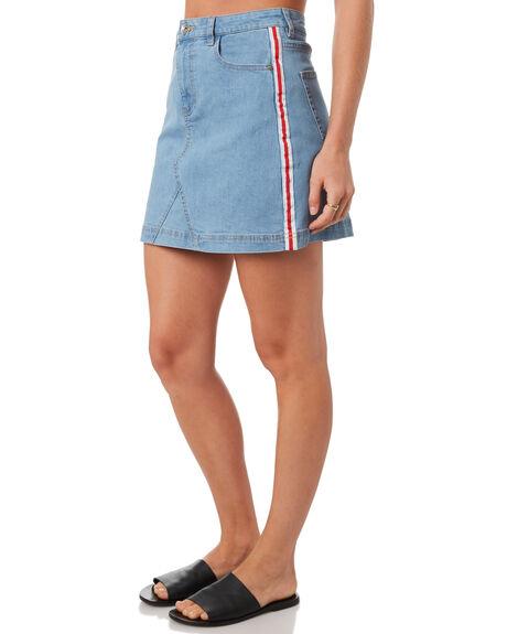 DENIM WOMENS CLOTHING SILENT THEORY SKIRTS - 6093115DEN