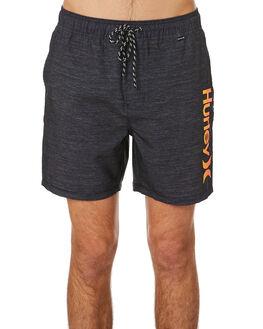 BLACK MENS CLOTHING HURLEY BOARDSHORTS - CK0067010