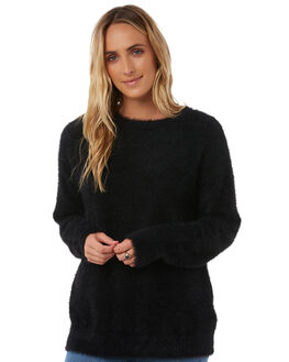 BLACK WOMENS CLOTHING THE HIDDEN WAY KNITS + CARDIGANS - H8173150BLK