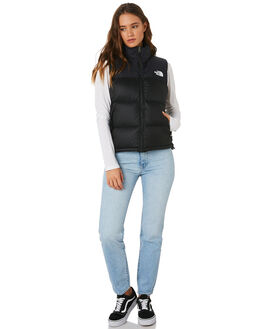 BLACK WOMENS CLOTHING THE NORTH FACE JACKETS - NF0A3JQSJK3