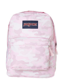 COTTON CANDY CAMO WOMENS ACCESSORIES JANSPORT BAGS + BACKPACKS - JST501-JS5Q3
