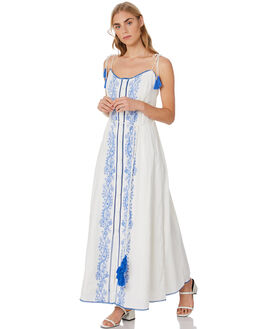 WHITE WOMENS CLOTHING TIGERLILY DRESSES - T305424WHT
