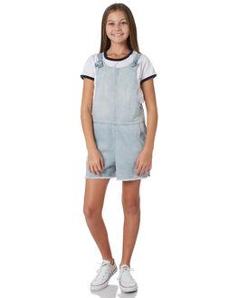 LIGHT BLUE KIDS GIRLS EVES SISTER DRESSES + PLAYSUITS - 9920021LTBL