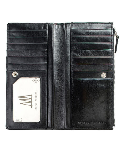 BLACK WOMENS ACCESSORIES STATUS ANXIETY PURSES + WALLETS - SA1023BLK