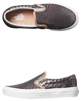 ROSE GOLD KIDS GIRLS VANS SLIP ONS - VNA32QIOF9RGD