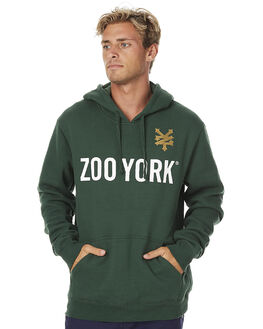 VET GREEN MENS CLOTHING ZOO YORK JUMPERS - ZY-MFNC069VGRN