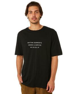 BLACK OUTLET MENS RHYTHM TEES - JUL18M-PT03-BLK