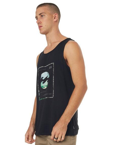 BLACK MENS CLOTHING BILLABONG SINGLETS - 9585504BLK