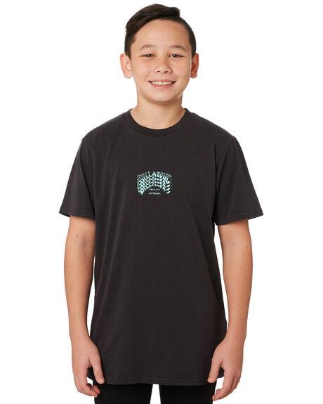 BLACK KIDS BOYS BILLABONG TOPS - 8595018BLK