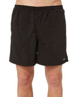 BLACK MENS CLOTHING PATAGONIA BOARDSHORTS - 57021BLK