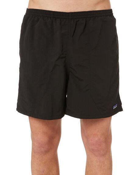 BLACK MENS CLOTHING PATAGONIA BOARDSHORTS - 57021BLK