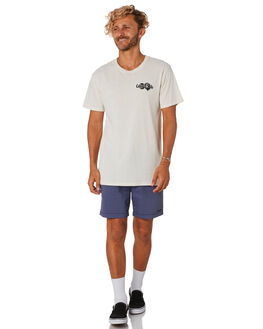 DIRTY WHITE MENS CLOTHING THE CRITICAL SLIDE SOCIETY TEES - TE18125DTWHT