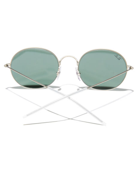 SILVER RUBBER MENS ACCESSORIES RAY-BAN SUNGLASSES - 0RB3594SILR