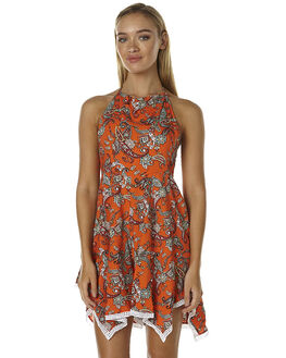 FLORIDITA PRINT WOMENS CLOTHING ALL ABOUT EVE PLAYSUITS + OVERALLS - 6483024PRNT