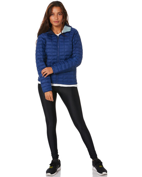 FLAG BLUE ROM PRINT WOMENS CLOTHING THE NORTH FACE JACKETS - NF0A3Y3PJH6