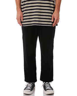 BLACK MENS CLOTHING STUSSY PANTS - ST082616BLK