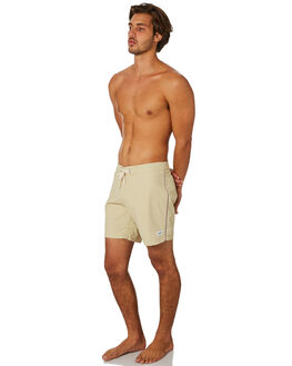 NATURAL WHITE MENS CLOTHING RHYTHM BOARDSHORTS - JAN19M-TR05-WHT