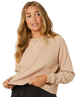 CREAM WOMENS CLOTHING NUDE LUCY JUMPERS - NU23850CREAM