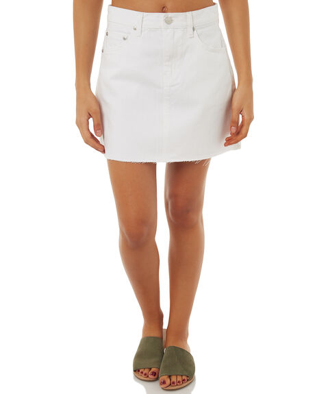 WHITE WOMENS CLOTHING ZIGGY SKIRTS - ZW-1492WHT