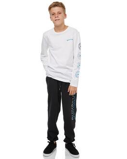 BLACK KIDS BOYS QUIKSILVER PANTS - EQBFB03065KVJ0