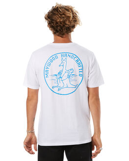 WHITE MENS CLOTHING MAYWOOD TEES - MTE707WHT