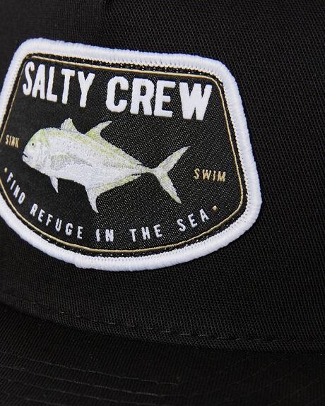 BLACK MENS ACCESSORIES SALTY CREW HEADWEAR - 35035337BLK