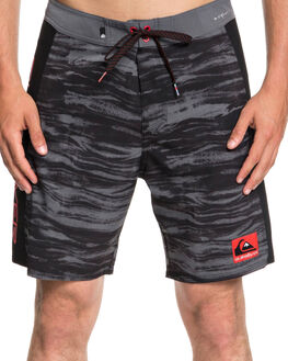 BLACK MENS CLOTHING QUIKSILVER BOARDSHORTS - EQYBS04042KVJ0