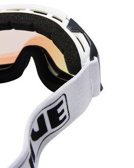 WHITE BOARDSPORTS SNOW LIIVE VISION GOGGLES - L0692BWHT