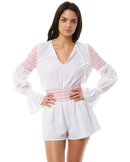 14e06f4689c WHITE OUTLET WOMENS THE FIFTH LABEL PLAYSUITS + OVERALLS - 40180212WHT