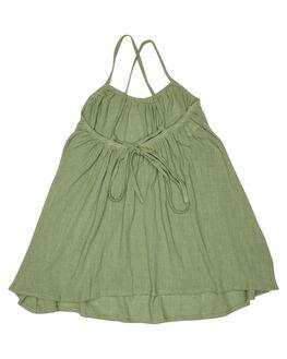 MULTI KIDS TODDLER GIRLS CHILDREN OF THE TRIBE DRESSES + PLAYSUITS - GRDR0312MUL