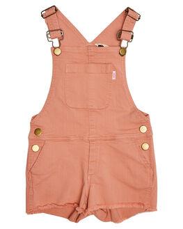 WASHED ROSE KIDS TODDLER GIRLS MUNSTER KIDS DRESSES + PLAYSUITS - MM182JS04-ROSE