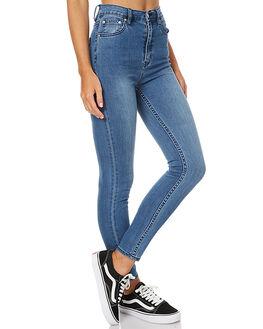 MONDAY BLUES WOMENS CLOTHING ZIGGY JEANS - ZW-1309MOND