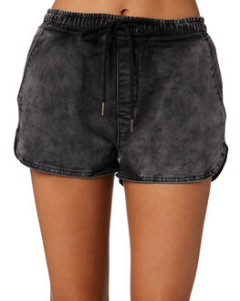 BLACK OUTLET WOMENS SILENT THEORY SHORTS - 6015009BLK