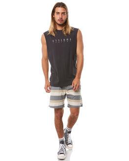SANDMAN STRIPE MENS CLOTHING THRILLS BOARDSHORTS - TH8-307CZSNDST