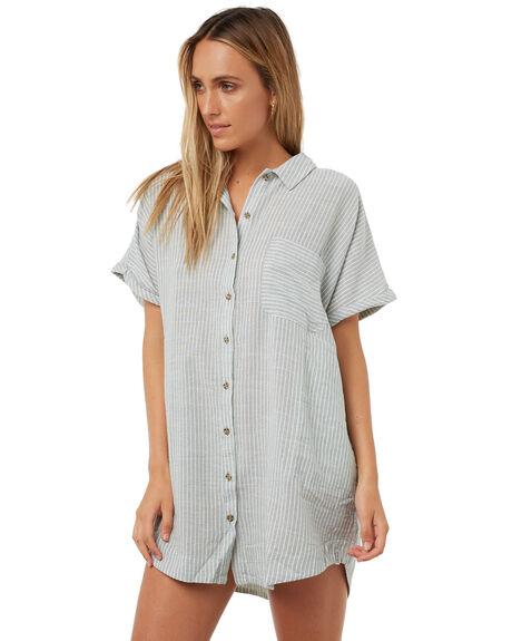 PALM WOMENS CLOTHING RHYTHM DRESSES - JAN18W-DR03-PALPALM