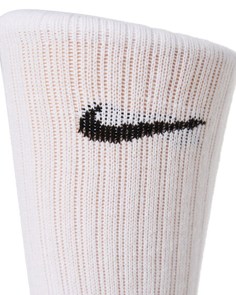 WHITE BLACK KIDS BOYS NIKE SOCKS + UNDERWEAR - SX6842-100