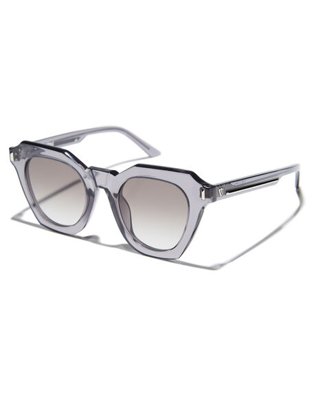 TRANSPARENT GREY MENS ACCESSORIES VALLEY SUNGLASSES - S0432TGRY