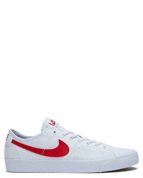 WHITE UNIVERSITY RED MENS FOOTWEAR NIKE SNEAKERS - CV1658-100