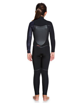 BLACK/ GUN METAL BOARDSPORTS SURF ROXY GIRLS - ERGW103027-XKGK