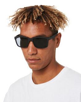 MATTE BLACK MENS ACCESSORIES LIIVE VISION SUNGLASSES - L0603AMTBLK
