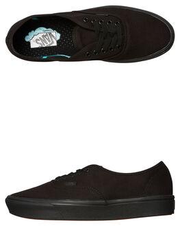 BLACK BLACK WOMENS FOOTWEAR VANS SNEAKERS - SSVNA3WM7VNDW