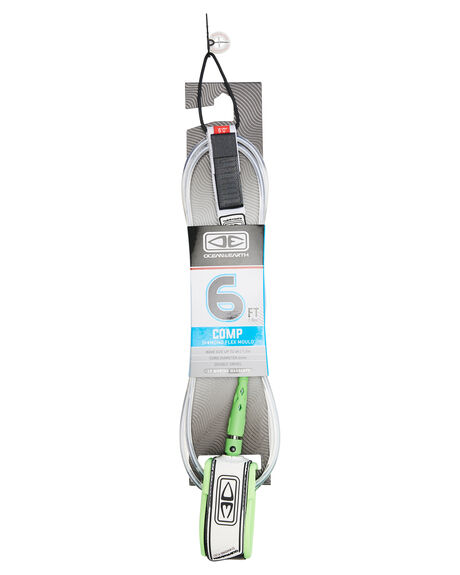 WHITE BOARDSPORTS SURF OCEAN AND EARTH LEASHES - LM60WHI