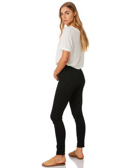 SATELLITE BLACK WOMENS CLOTHING LEE JEANS - L-655479-S46SATBK