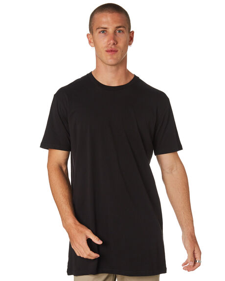 BLACK MENS CLOTHING AS COLOUR TEES - 5013BLACK