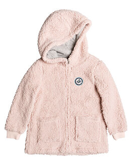 CLOUD PINK KIDS GIRLS ROXY JUMPERS + JACKETS - ERLPF03012-MCW0