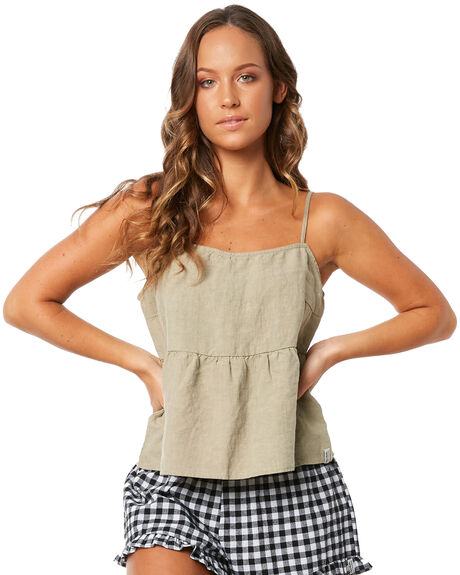SAGE WOMENS CLOTHING RHYTHM FASHION TOPS - JUL18W-WT03SAG