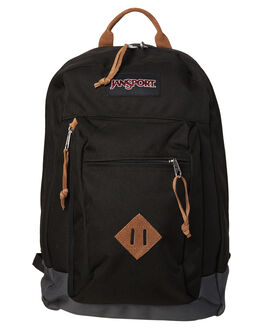 BLACK MENS ACCESSORIES JANSPORT BAGS - JST70FJS008